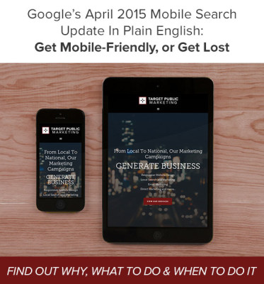 Google mobile search update April 2015 - What to do!