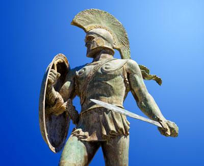 King Leonidas, marketing dude