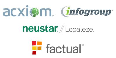 local search data aggregrators